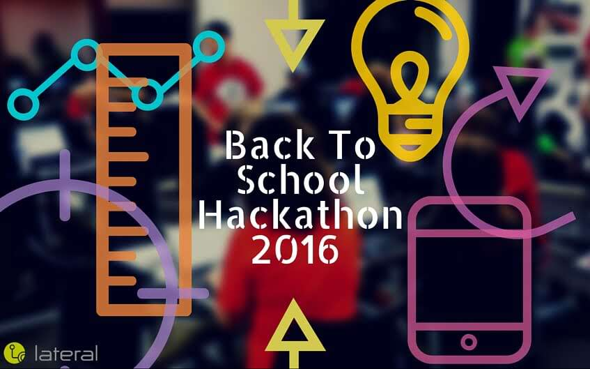 Lateral Empowers Students To Become Software Development Leaders In The Back To School Hackathon